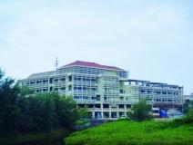 恩納村役場新庁舎