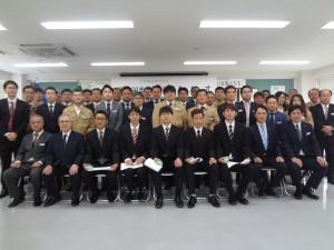 平成29年度入社式2