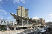 カフーナ旭橋再開発A街区 バスターミナル